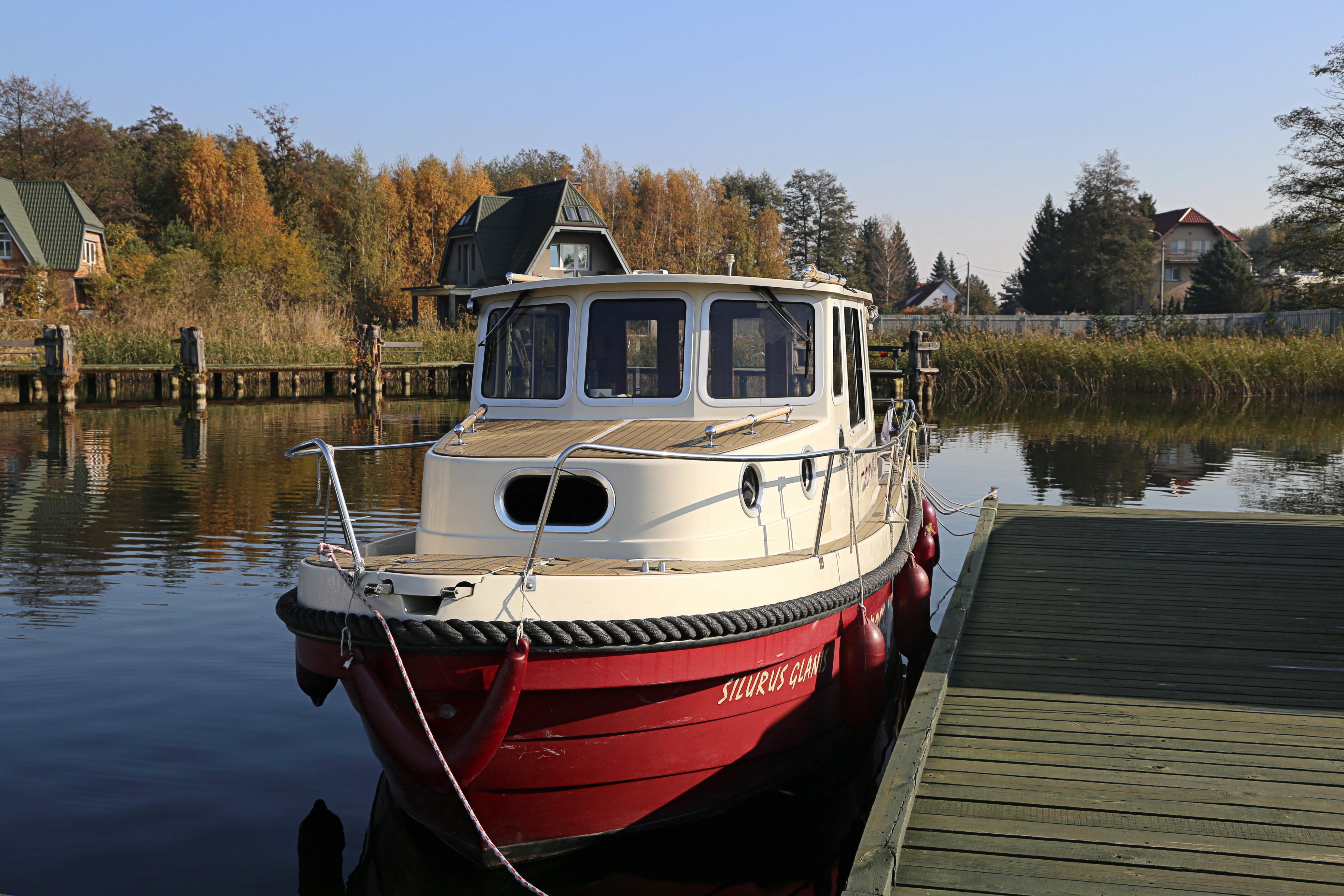 houseboot - barka na Mazurach